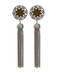House of Harlow 1960 - Brown Sunburst Tassel Earrings - Lyst