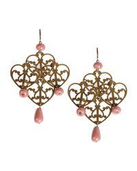 Erika Cavallini Semi Couture | Metallic Earrings | Lyst