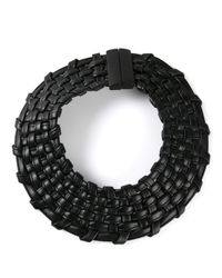 Monies Black Collar Necklace
