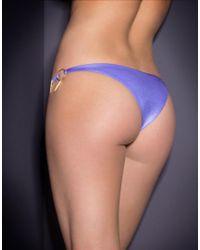 Agent Provocateur - Axelle Bikini Brief Purple - Lyst