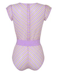 Agent Provocateur - Purple Pettra Body Lilac And Lime - Lyst