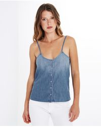 AG Jeans | Blue The Austen Tank | Lyst