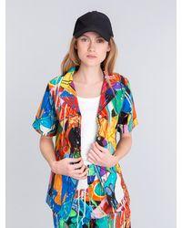 Agnes B. Blue Jonone Abigaelle Shirt for men