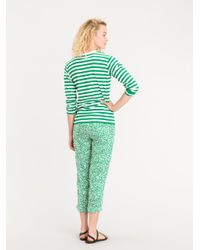 Agnes B. - Green T-shirt Coquelicot - Lyst