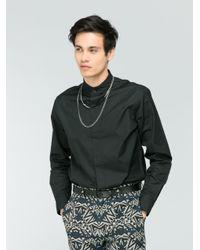 Agnes B. Black Nolan Shirt for men