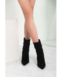 Akira Black A Little Respect Ankle Bootie
