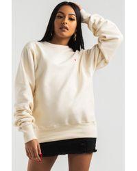 Champion Natural Reverse Weave Crew Sweatshirt