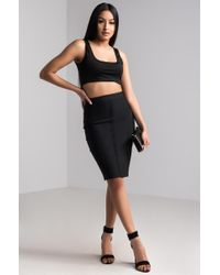 Akira - Black Grown Woman Skirt - Lyst