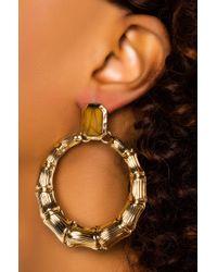 Akira Metallic Bombay Club Dangle Earring