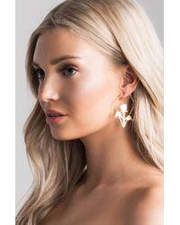 Akira - Metallic Enchantress Earrings - Lyst