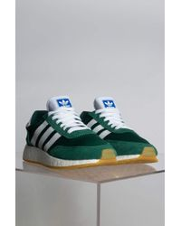 Adidas Green I-5923 Lace Up Sneaker
