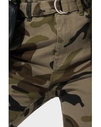 Akira Green All The Way To The Left Camo Denim Pant