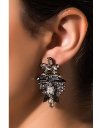 Akira Metallic Under Control Cluster Earring