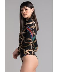 Akira Black Set Control Bodysuit