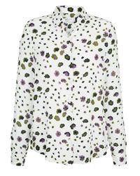 Seidensticker White Bluse im Blumendessin