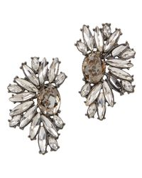 ALDO | Gray Marmer Earrings | Lyst