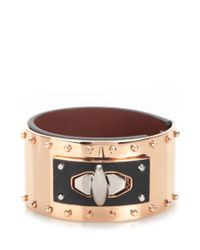 Givenchy | Metallic 'shark' Studded Bracelet | Lyst