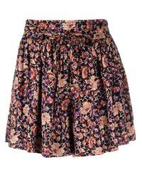 Shorts a fiori di Ulla Johnson in Blue