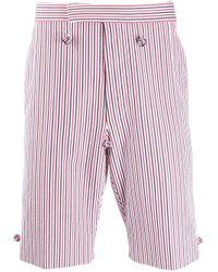 Thom Browne Multicolor Backstrap Striped Shorts for men