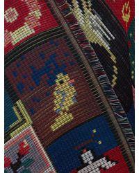 Alexander McQueen Multicolor Scialle Jacquard