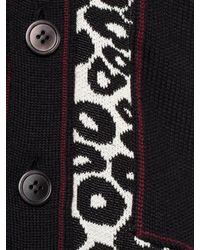 Alexander McQueen | Multicolor Plain Stitch Cardigan for Men | Lyst