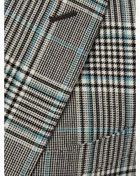 Veste à carreaux prince-de-galles Highlight Alexander McQueen pour homme en coloris Gray