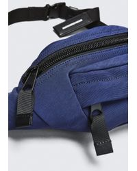 Alexander Wang - Blue Navy Nylon Cass Fanny Pack for Men - Lyst
