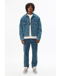 Alexander Wang Blue Indigo Denim Jacket for men