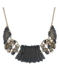 Alexis Bittar | Multicolor Stone Cluster Bib Necklace You Might Also Like | Lyst