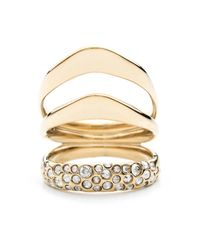 Alexis Bittar - Metallic Liquid Gold Crystal Encrusted Draping Ring You Might Also Like - Lyst