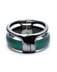 Alexis Bittar - Black Ruthenium Stacked Hinged Bracelet You Might Also Like - Lyst