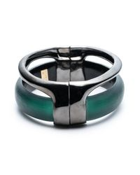 Alexis Bittar | Black Ruthenium Stacked Hinged Bracelet You Might Also Like | Lyst