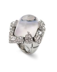 Alexis Bittar | Metallic Glacial Crystal Shattered Cocktail Ring You Might Also Like | Lyst