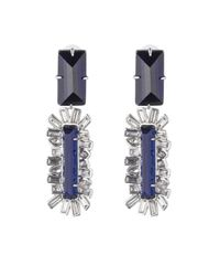 Alexis Bittar - Blue Framed Baguette Dangling Clip Earring You Might Also Like - Lyst