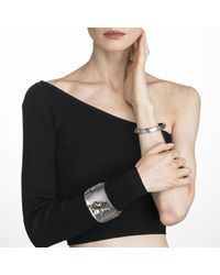 Alexis Bittar - Gray Crystal Encrusted Starburst Studded Hinge Bracelet You Might Also Like - Lyst