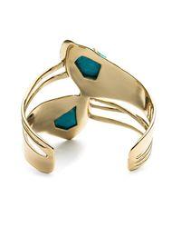 Alexis Bittar - Metallic Jagged Diamond Ribbon Cuff You Might Also Like - Lyst