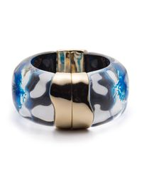 Alexis Bittar | Blue Liquid Side Hinge Bracelet You Might Also Like | Lyst