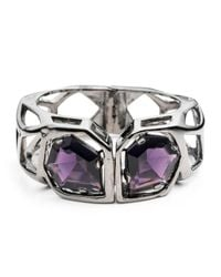 Alexis Bittar | Multicolor Framed Amethyst Bangle You Might Also Like | Lyst