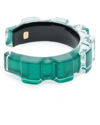 Alexis Bittar | Green Corrugated Cuff Bracelet You Might Also Like | Lyst