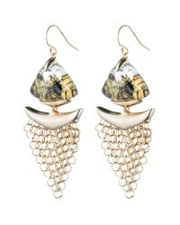 Alexis Bittar | Metallic Dangling Mesh Wire Earring You Might Also Like | Lyst