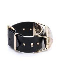 Alexis Bittar | Black Leather Band Buckle Bracelet You Might Also Like | Lyst