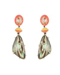 Alexis Bittar | Multicolor Wood Grain Clip Earring You Might Also Like | Lyst