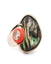Alexis Bittar | Multicolor Wood Grain Ring You Might Also Like | Lyst