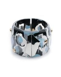 Alexis Bittar | Multicolor Petal Studded Hinge Bracelet You Might Also Like | Lyst