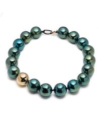 Alexis Bittar | Multicolor Liquid Metal Sphere Necklace You Might Also Like | Lyst