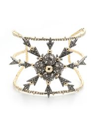 Alexis Bittar Metallic Crystal Encrusted Snowflake Cuff Bracelet You Might Also Like