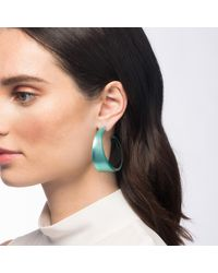 Alexis Bittar Multicolor Wide Graduated Medium Hoop Lucite Earring You Might Also Like