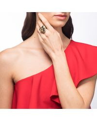 Alexis Bittar - Metallic Grater Heart Cocktail Ring You Might Also Like - Lyst