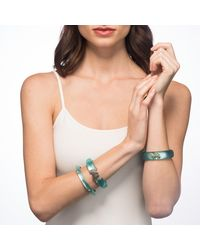 Alexis Bittar - Green Crystal Encrusted Lime Studded Hinge Bracelet You Might Also Like - Lyst
