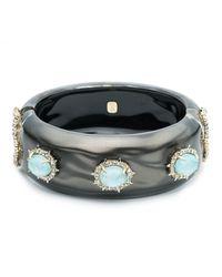 Alexis Bittar - Multicolor Liquid Silk And Stone Hinge Bracelet - Lyst
